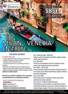 Milan-Venecia-tren